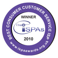 Best Consumer Customer Service  ISP WINNER 2010