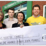 Plusnet gives cash to Sheffield Children's Hospital