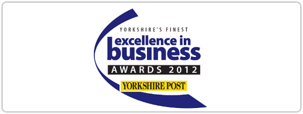 Excellence in business awards 2012 logo.