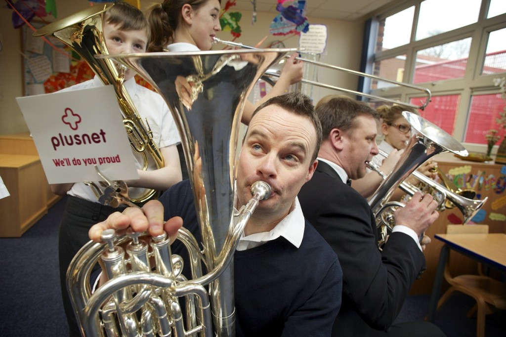 Plusnet - Grimethorpe Colliery Band.