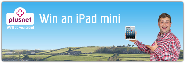 iPad Mini competition banner
