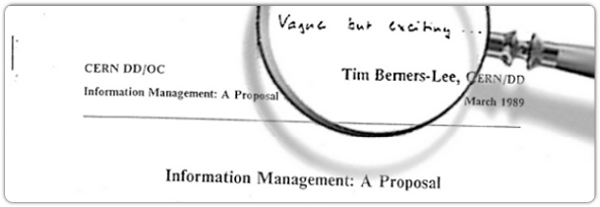 Tim Berner's Information Management proposal
