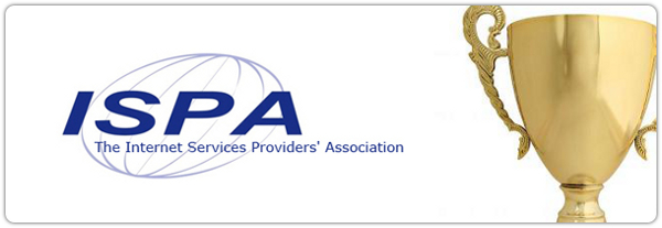 ISPA logo and trophy