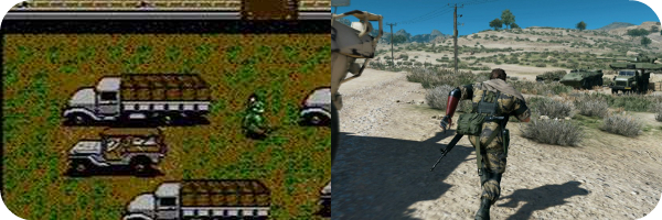 Metal Gear Solid then and now