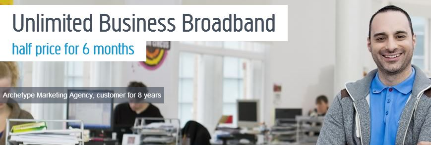 Half Price Business Broadband