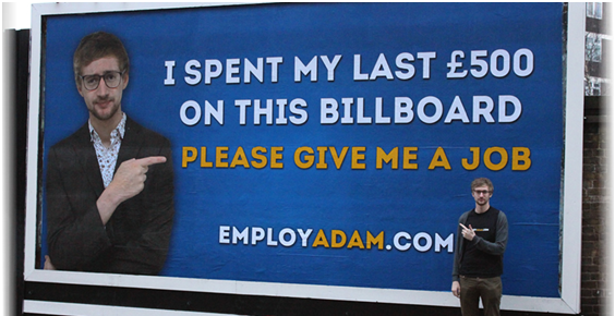 Adam Pacitti billboard