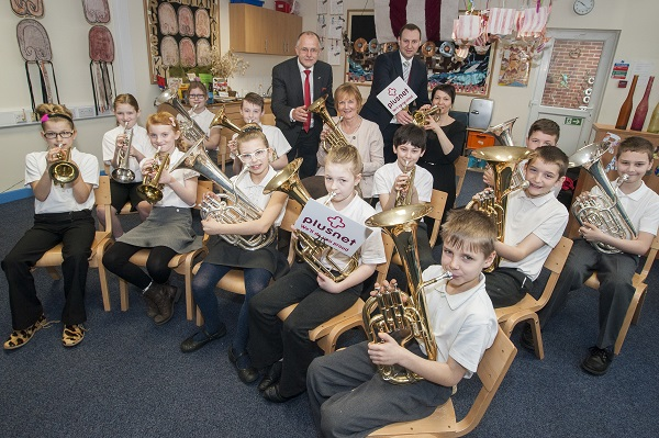 Birkwood School band