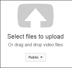 Select Files to Upload Button YouTube