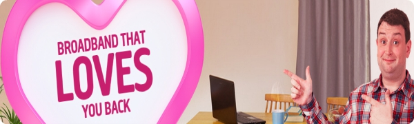 Plusnet's Love You Back Campaign