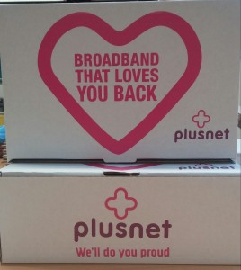 Plusnet Boxes Branded Bloggers
