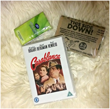 A Daisy Chain Dream BFI Blogger Box contents