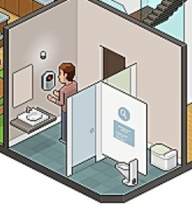 Office of the Future 2030 Bathroom Plusnet