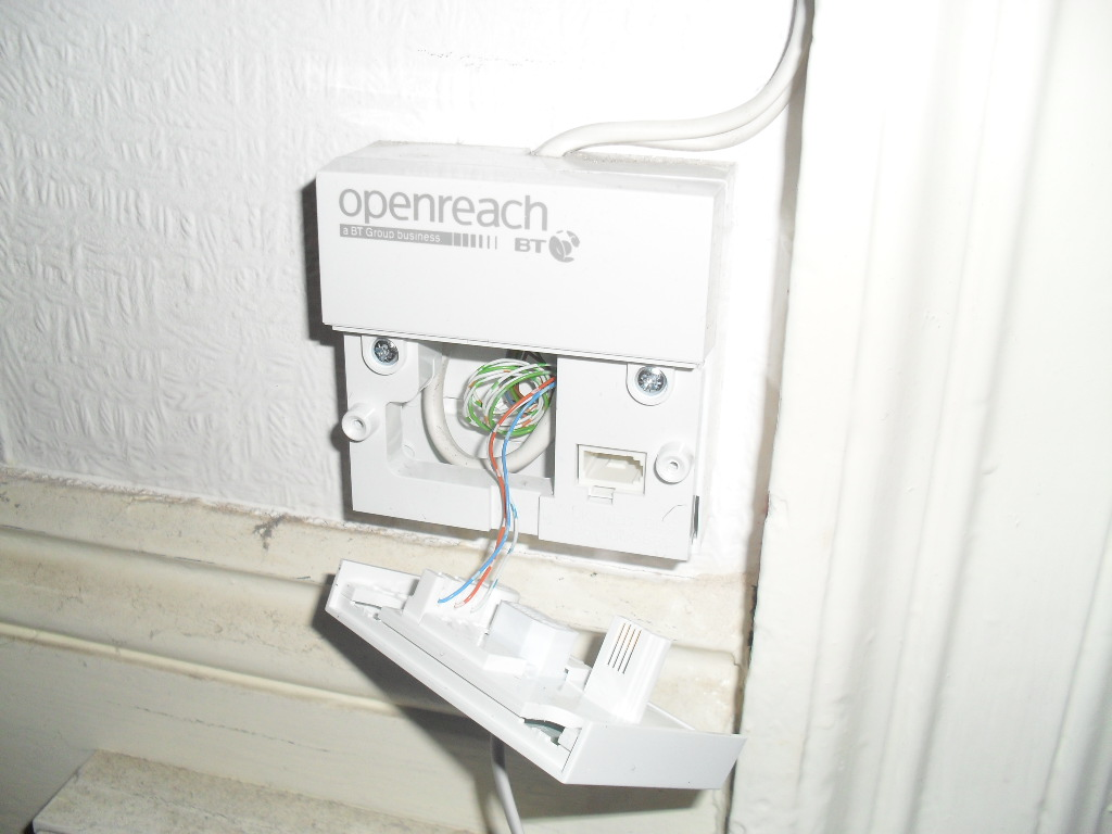 Switching Router Off For Electrical Work Plusnet Community Openreach Master Socket Wiring