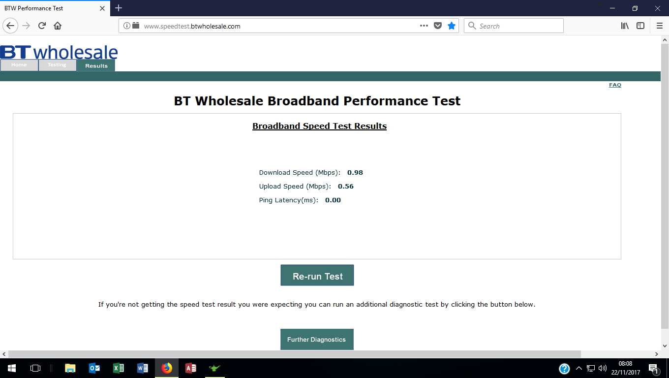 broadband questionnaire Use the broadband map to visually see the price and availability of different internet options in your location speed test use the speed test to see if you are getting the download and upload speeds your business requires.