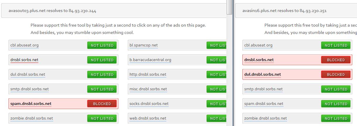 Plusnet mail server blacklisted? - Plusnet Community