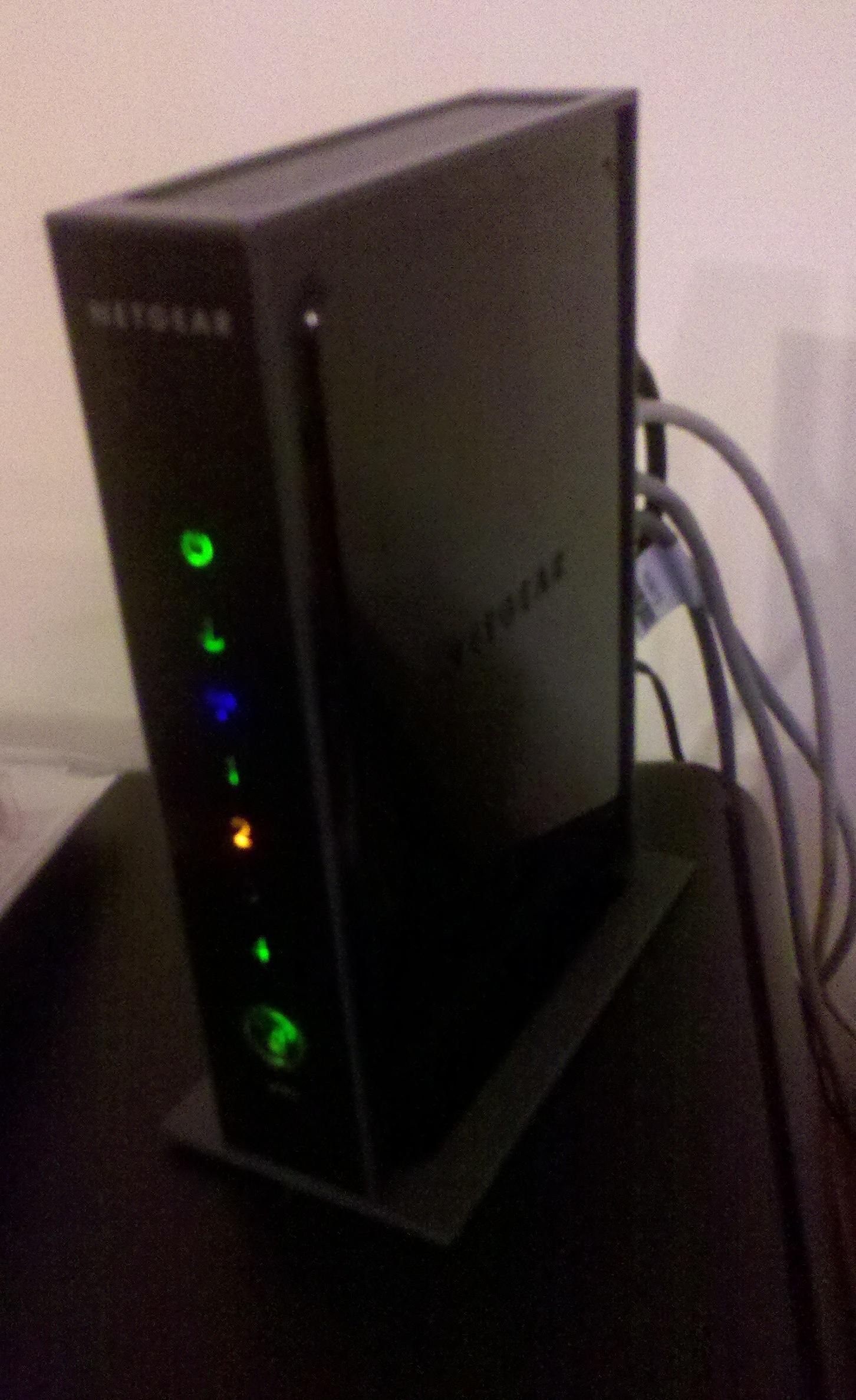 Fttp Install Bt Amp Netgear Modem Outside Wall Box