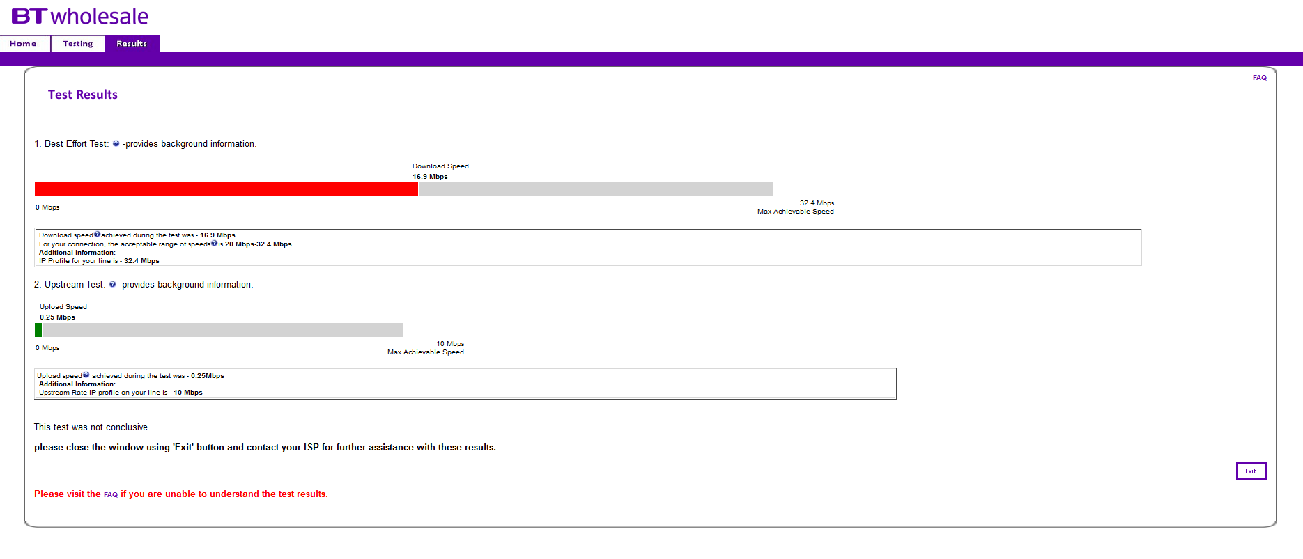 Slow download and very slow upload speeds - Plusnet Community