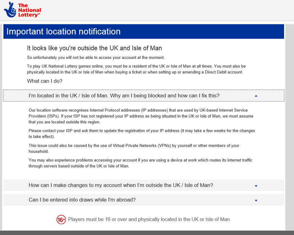 IP addresses not UK - Can customers please report     - Page 3