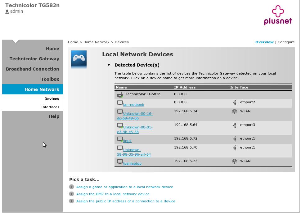 WiFi Printer over LAN - Plusnet Community