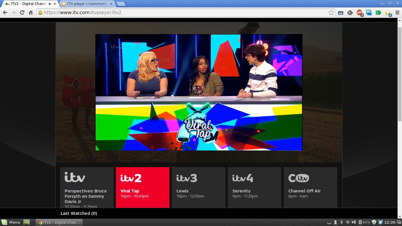 ITV player - Plusnet Community
