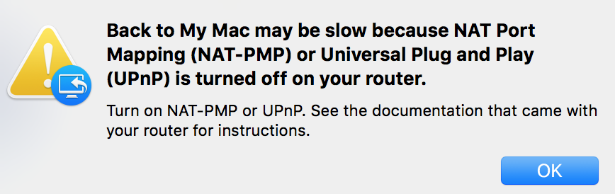 Back to My Mac issues - Plusnet Community