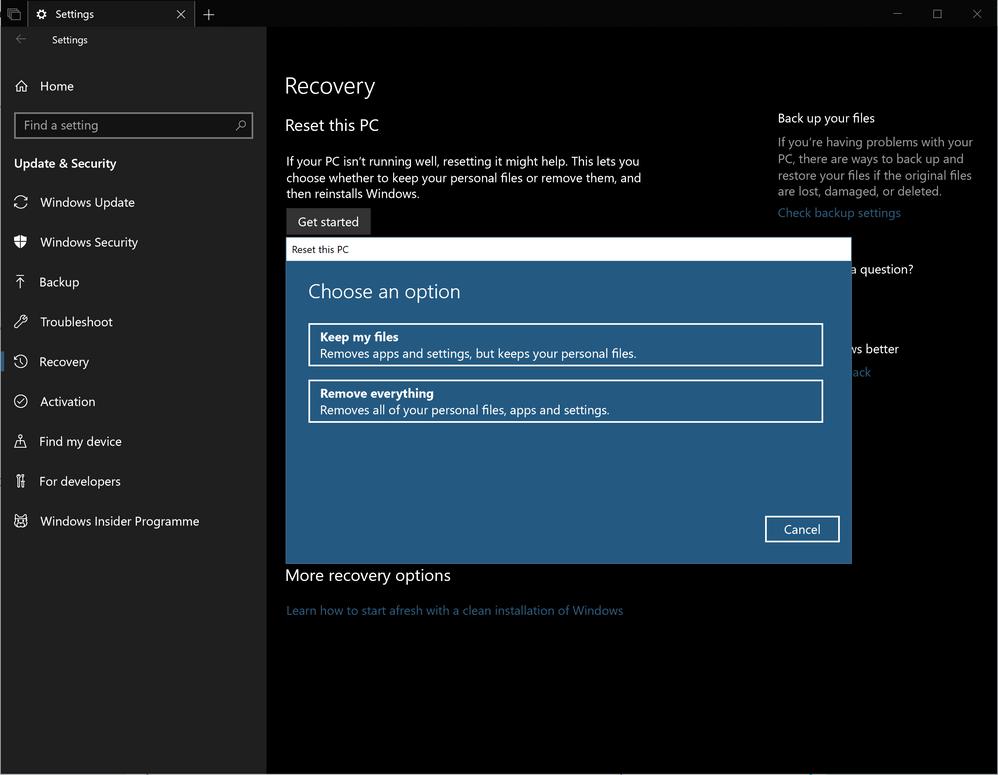 Fixed: Windows10 - version 1709 - Plusnet Community