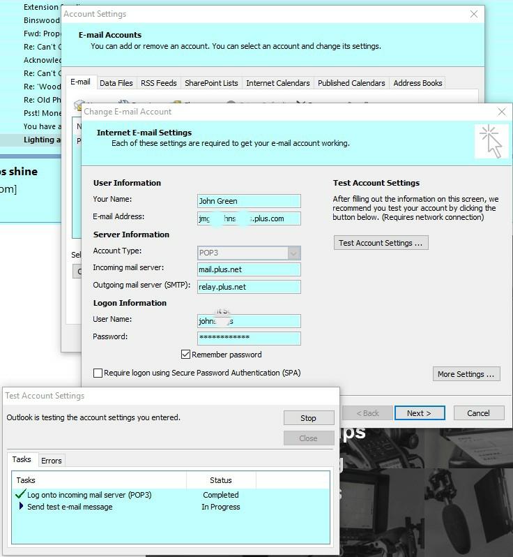 Emails won\u0027t send - Page 3 - Plusnet Community