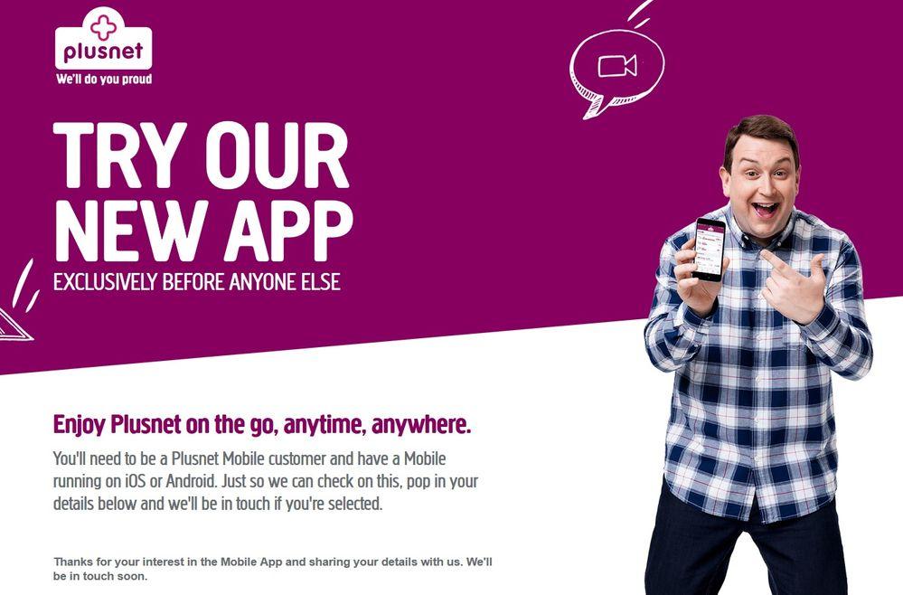 Mobile Beta App Registered