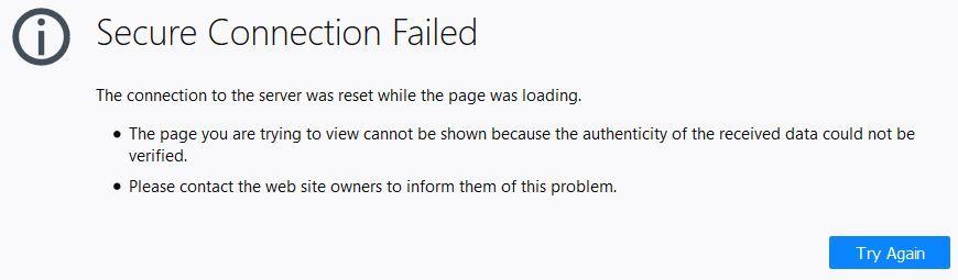Secure connection failure.JPG