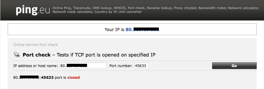 Help with port forwarding - Plusnet Community