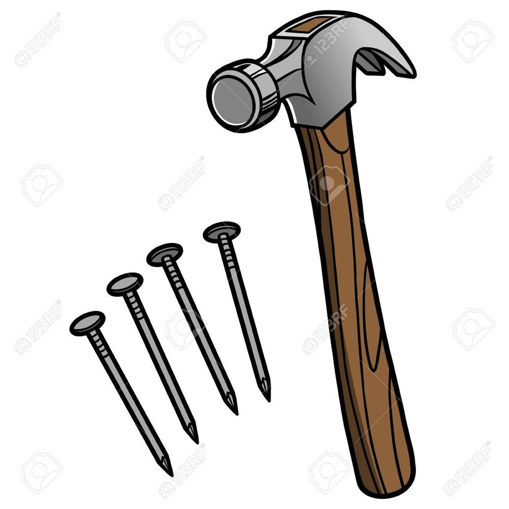 57535472-hammer-and-nails