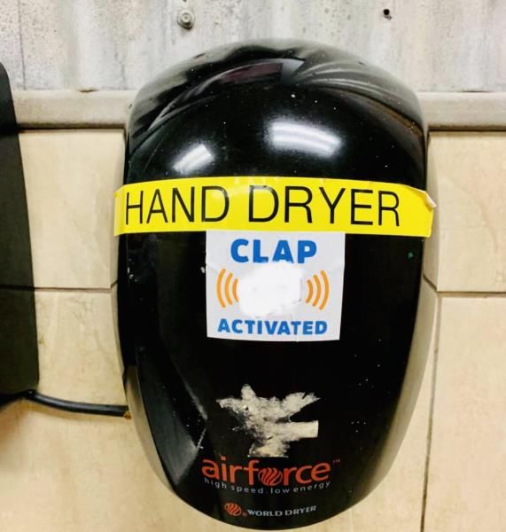 Clap dryer