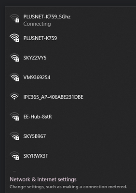 """Available WiFi during the """"outage"""""""