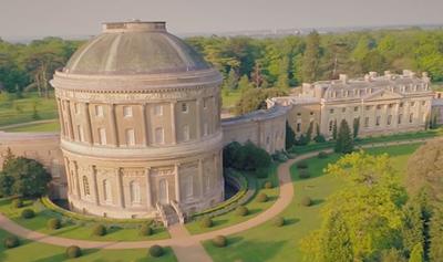 The stunning Ickworth Manor