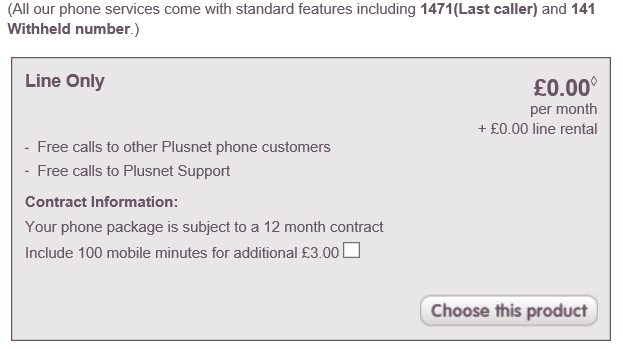 Fixed: Anytime UK and Mobile call package - how much does