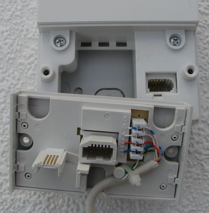 fixed incorrect phone socket wiring query plusnet community