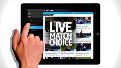 BT Sport App on your Tablet