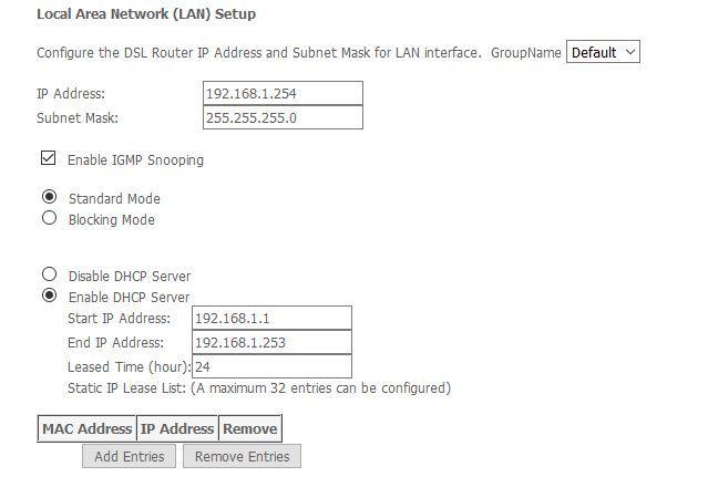 DVR setup with sagemcom 2704n router- accessing fr