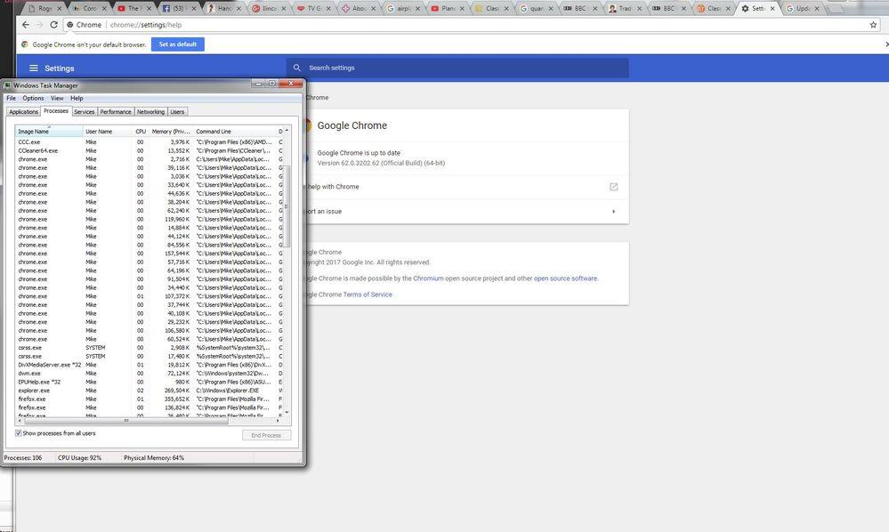 Google Chrome Issue - Plusnet Community