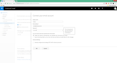 Import existing emails