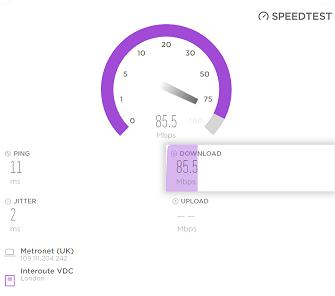 Plusnet broadband speed tester