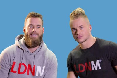 Twins James and Tom Exton started LDN Muscle