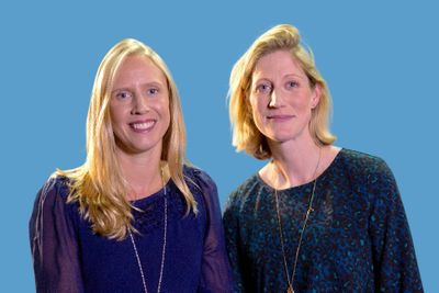 Katies Massie-Taylor and Sarah Hesz founders of Mush