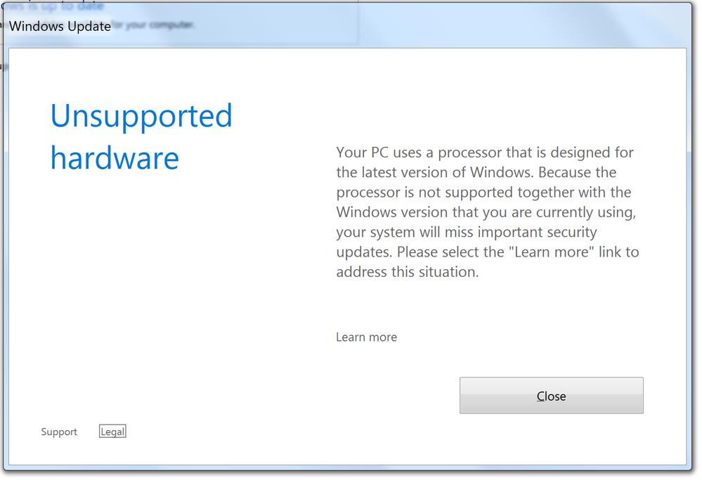 Ryzen 7 + Windows 7!